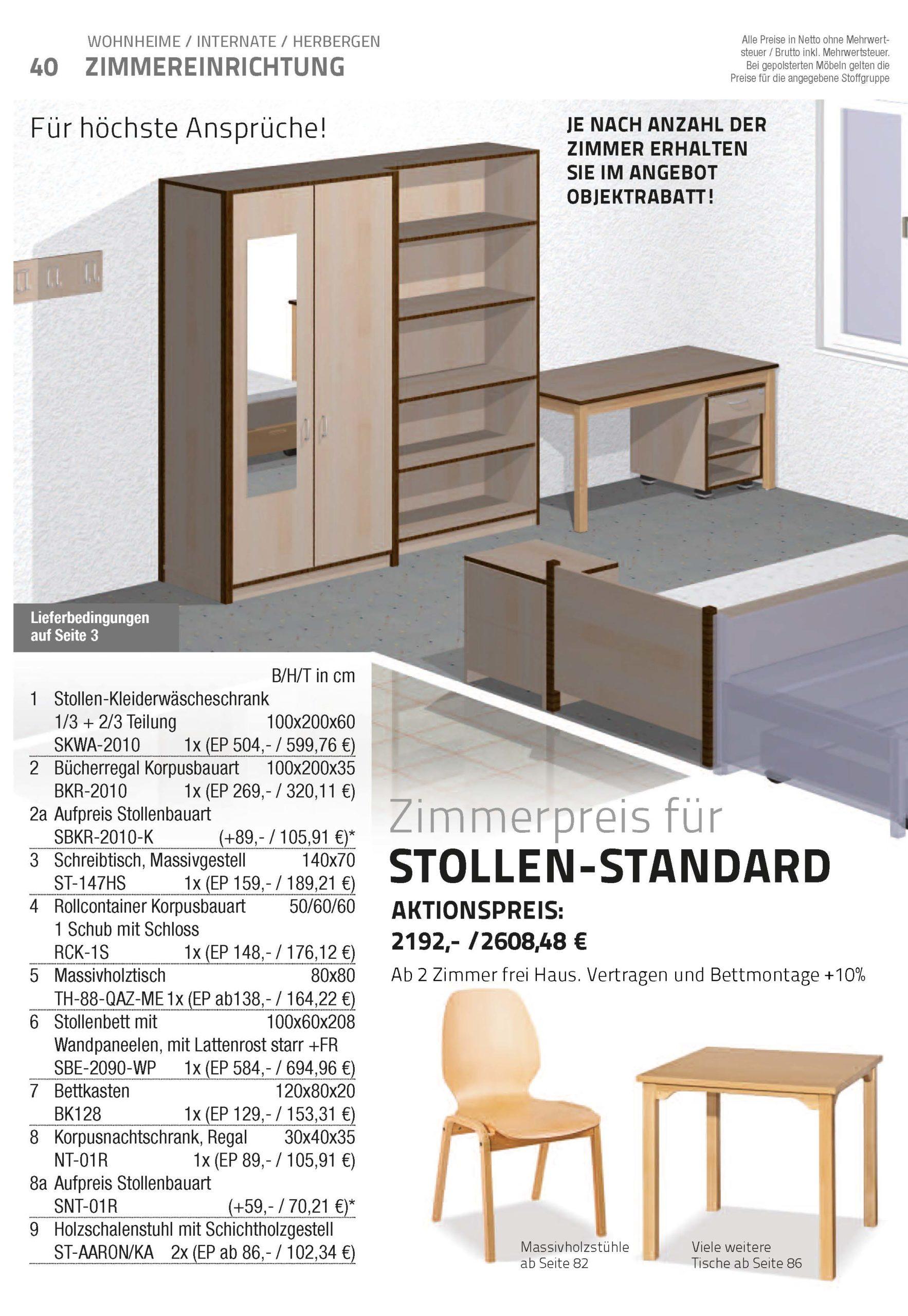 katalog wohnheime und internate – designmöbel designbau insido